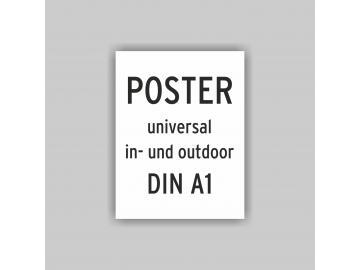 Plakat DIN A1 universal Poster