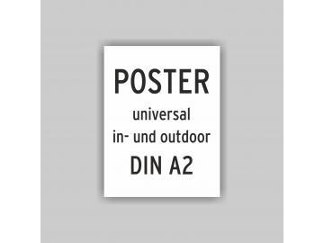 Plakat DIN A2 universal Poster