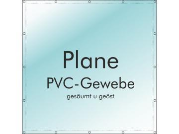 Plane 300 x 100 cm PVC 510 g/m² mit B1